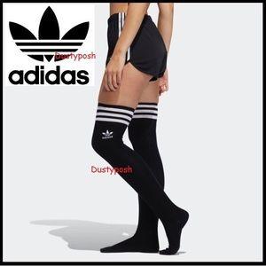 Adidas Thigh High Over Knee 3 Stripe Trefoil Socks